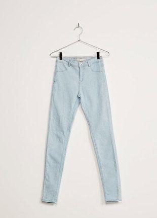 Kup mój przedmiot na #vintedpl http://www.vinted.pl/damska-odziez/rurki/15596932-dzinsy-bsk-o-kroju-super-skinny-regular-waist-bershka-l-rurki-bershka