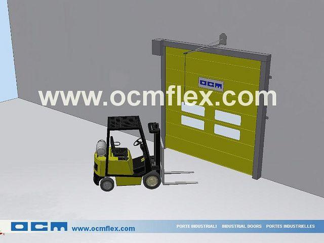 High speed door Pull Cord - pull cord switches - www.ocmflex.com