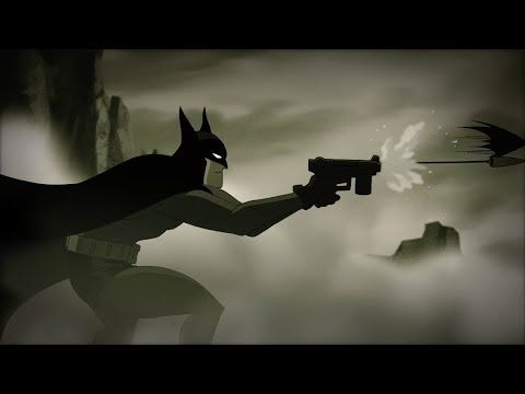 Is Batman the first action hero?