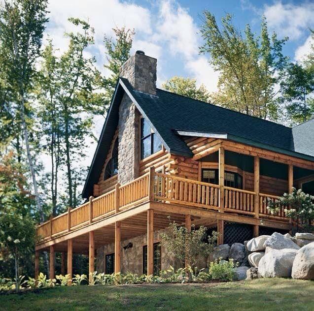 15 Best Highlands Log Home Gallery Images On Pinterest
