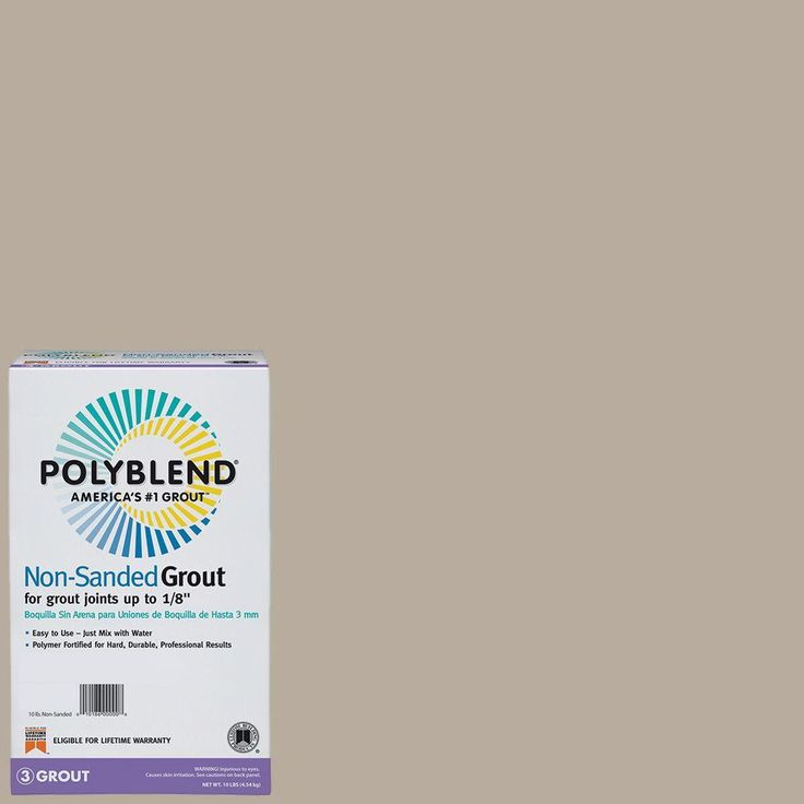 Custom Building Products Polyblend #11 Snow White 10 lb. Non-Sanded Grout-PBG1110 - The Home Depot
