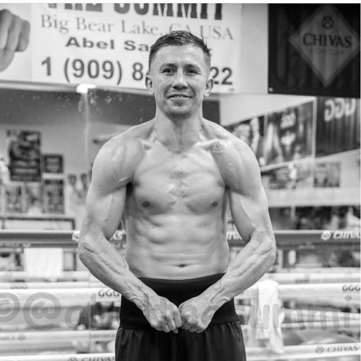 . @GGGBoxing is looking ripped and ready for next weekend!! Are you team GGG or Team Canelo? #War #behindthegloves #CaneloGGG #Canelo #GGG #GennadyGolovkin #boxingnews #instaboxing