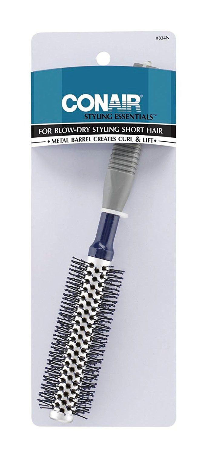 Conair 12 Row Full Round Hot Curling Brush, Colors May Vary * You can find out more details at the link of the image.