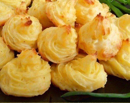 Фото к рецепту: Картофель по-герцогски (англ.кухня)