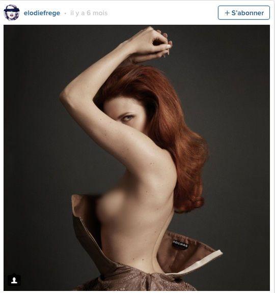 Elodie Frégé dévoile (encore) sa poitrine sur Instagram - news télé