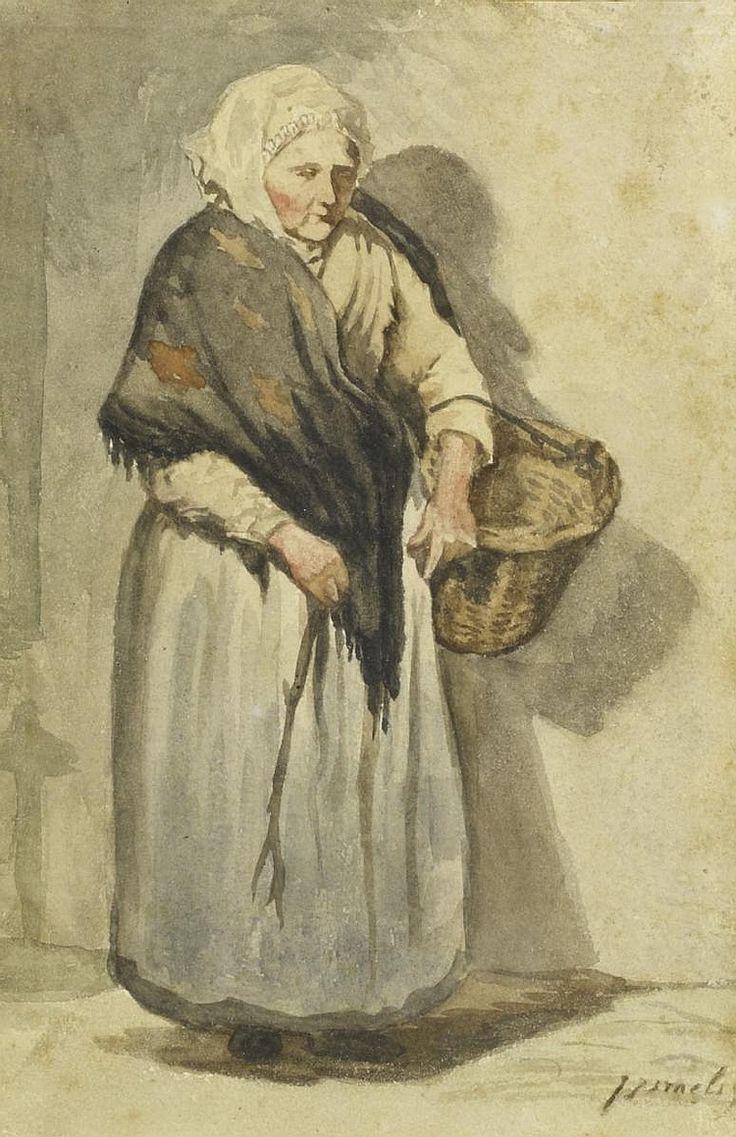 Jozef Israëls - Marktvrouw