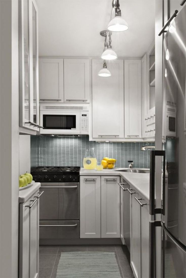 stainless steel in a white kitchen - Google Search