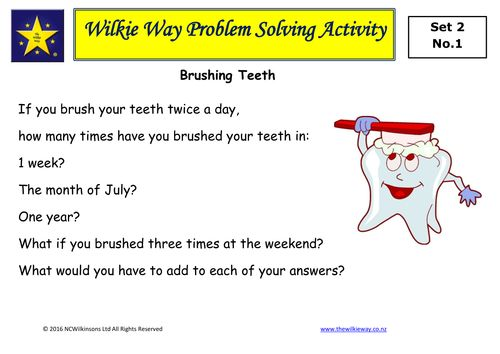 Set 2: Mastery Problem Solving Activities