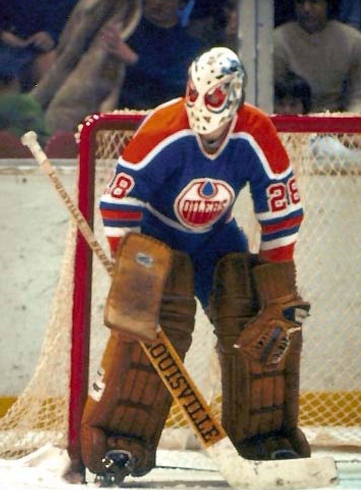 Dave Dryden WHA 1975/76 Edmonton Oilers