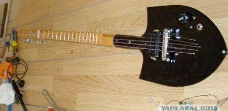 Shovel Guitar