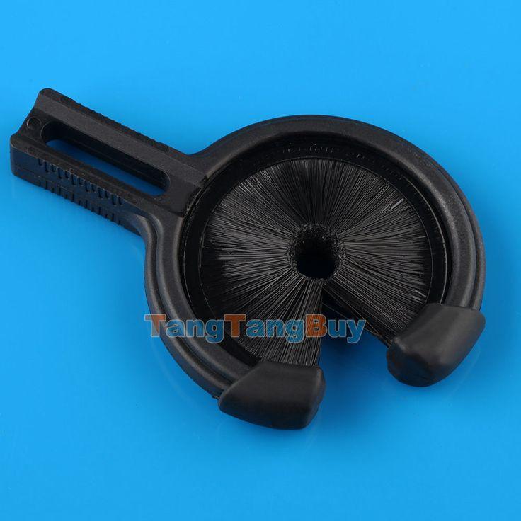 Black Compound Bow Arrow Rest Brush For Medium Biscuit Brush Arrow Rest New | eBay