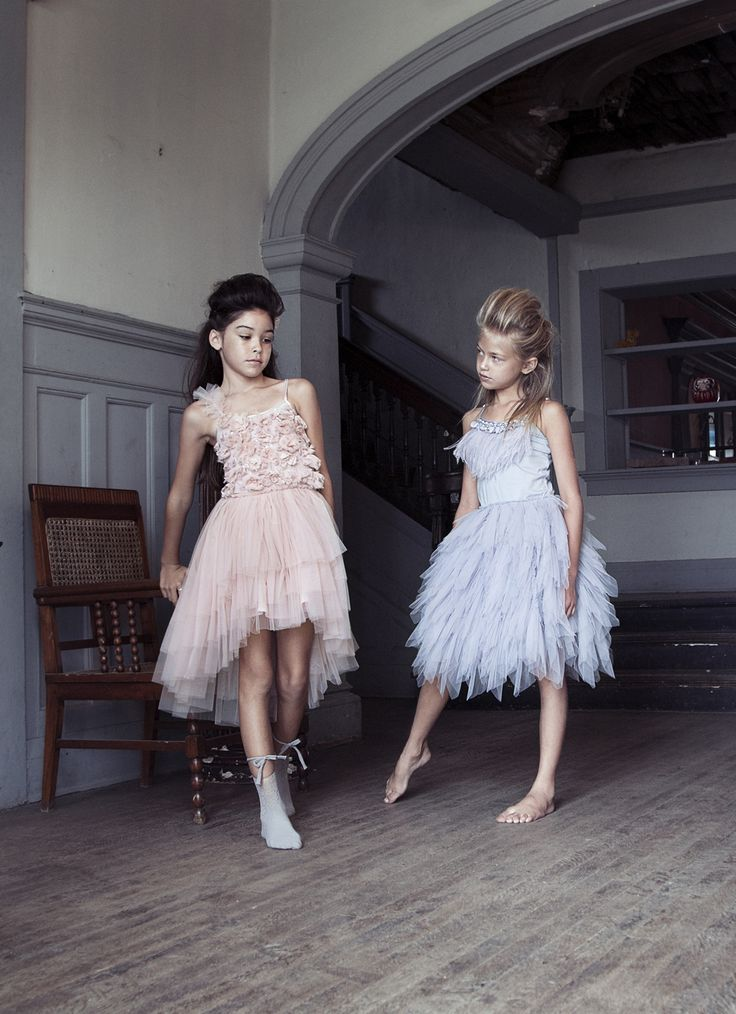 Celestial Tutu Dress in Orchid and Swan Queen Tutu Dress I Storm Cloud
