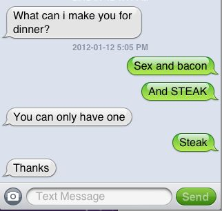 Text sex conversations  The 10 Hottest Texts to Send a Guy