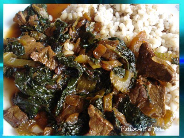 Les recettes de Passionarts et plus...: Sukiyaki de boeuf
