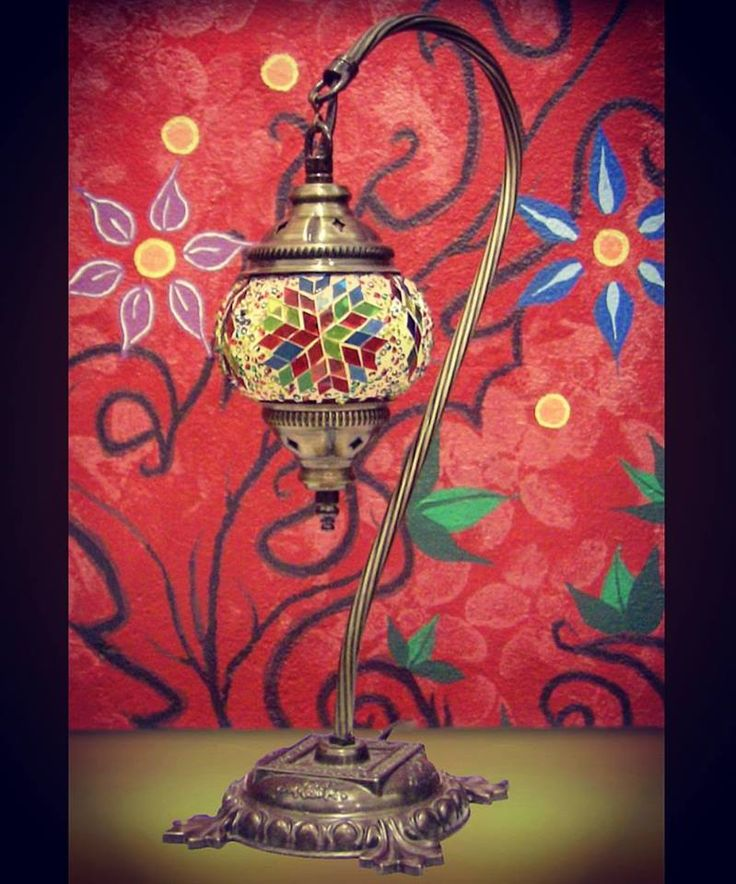 Stunning Turkish Lamp, just one of many designs available at our shop.