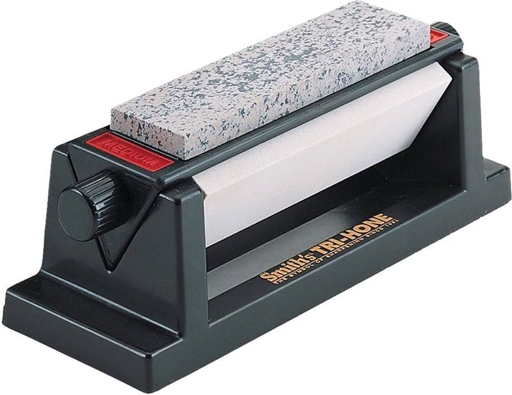 Smiths Tri Hone Sharpening System Is A Great All In One Arkansas Stone For Beginners To Develop Good Skills And Techniques On