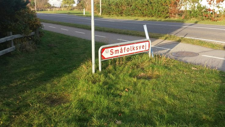 Vejskilt på Rømø
