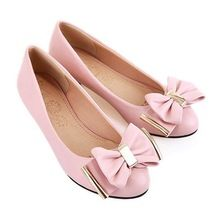 Hot! Plus Size 34-47 Sexy High Heels Bowknot Women Wedges Pumps Ladies Shoes Woman Chaussure Femme Zapatos Mujer sapato feminino(China (Mainland))