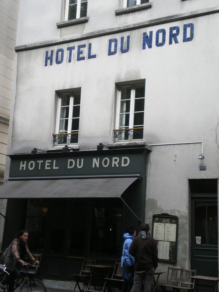 """Hôtel du Nord... """"Atmosphère, atmosphère..."""" - Canal Saint-Martin  #paris"""