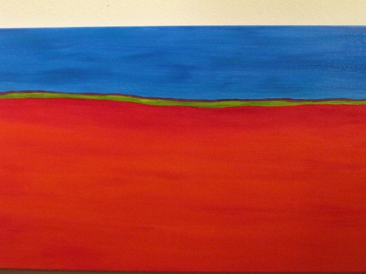 Red-Blue Horizon