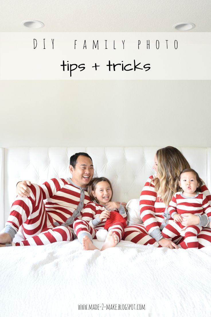 Tips & tricks to DIY your own family photos