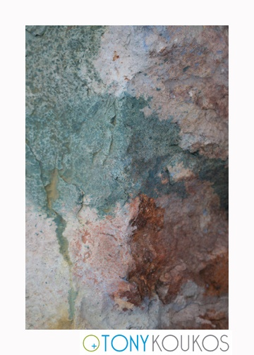 rocks, paint, swirls, soft, aged, dodecanese islands, greece, Tony Koukos, Koukos