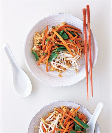 Vegetable Fried Rice | Give dinner an Asian spin with classic and modern recipes using traditional ingredients, including soy sauce, rice vinegar, and fresh ginger.