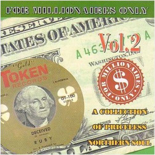 FOR MILLIONAIRES ONLY VOLUME 2 - VARIOUS ARTISTS RARE NORTHERN SOUL (GOLDMINE)
