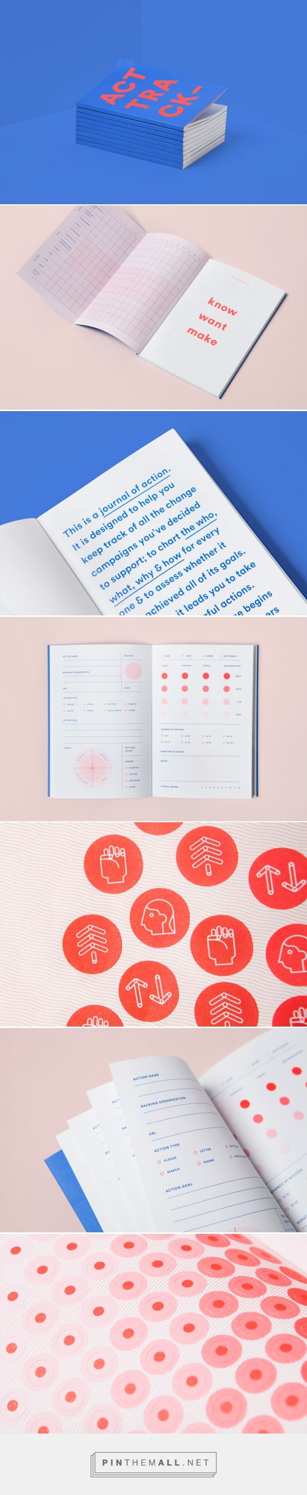 ACT/TRACK on Behance - created via https://pinthemall.net