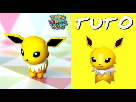 TUTO FIMO | Voltali / Jolteon (de Pokémon)