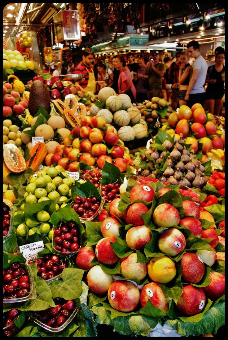 marché de la Boqueria /Barcelone 2013 http://www.actuweek.com/go/amazon-espagne.php