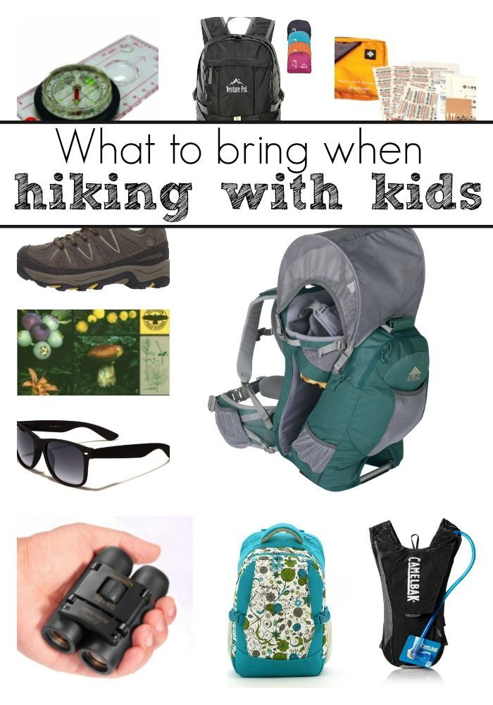 What to bring with you when you're hiking with kids to make it more fun for everyone!