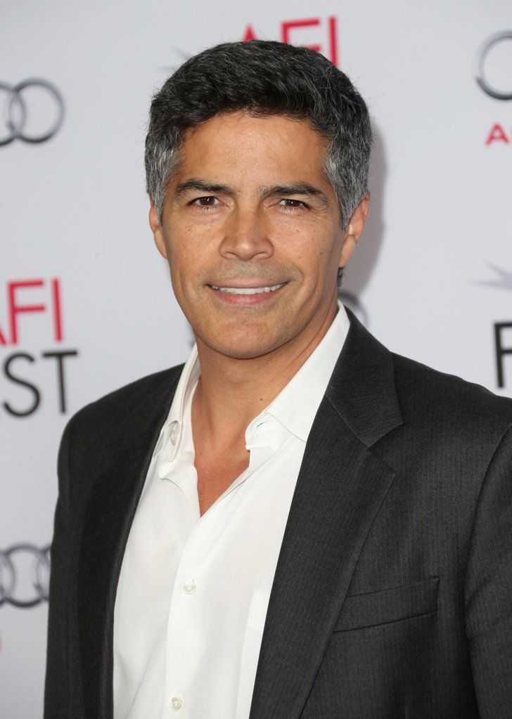 Pin for Later: 45 Famous, Sexy Silver Foxes Esai Morales