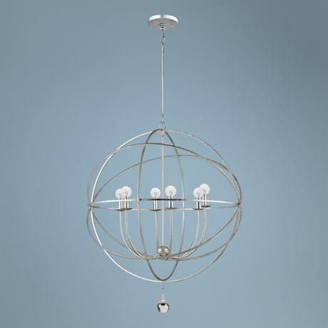 Love this light solaris collection 6 light modern pendant light