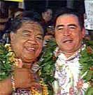 Hawaiian Luau: Pineapple Haupia coconut pudding ♥ Chefs Emerial Lagasse and Sam Choy / GMA