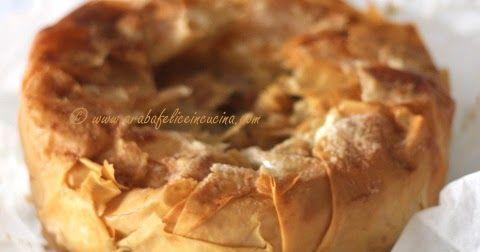 Pensate ad una torta di mele buonissima.   Ok, questo è facile.   Una dove non si impasti nulla.   Ancora facile.   Dove non si debba ...