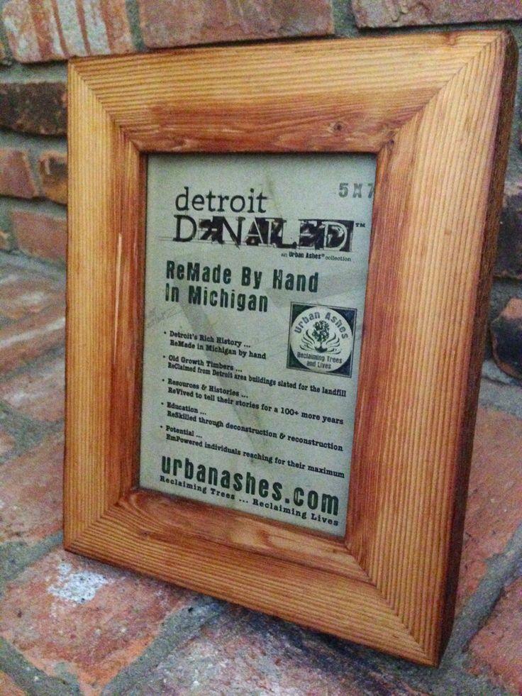 Detroit DeNailed Frames - Rough Edges