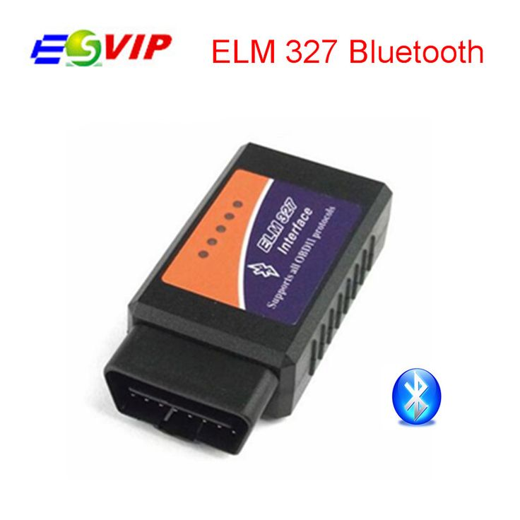 2017 Free Shipping BT ELM327 Bluetooth OBDII V2.1 CAN-BUS Diagnostic Interface Scanner Bluetooth ELM 327 OBD 2 Car Scan Tool #Affiliate