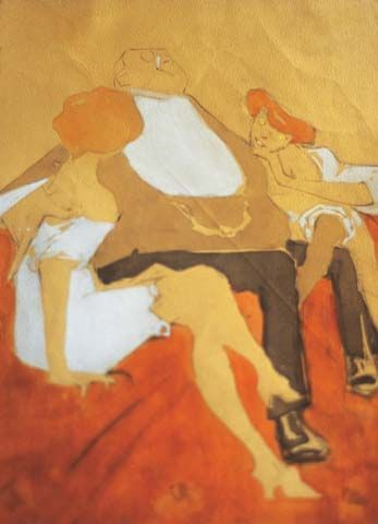 Ugo Valeri, Sul divano