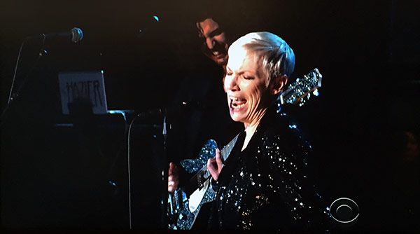 Hozier & Annie Lennox Perform 'Take Me To Church' At The Grammy's