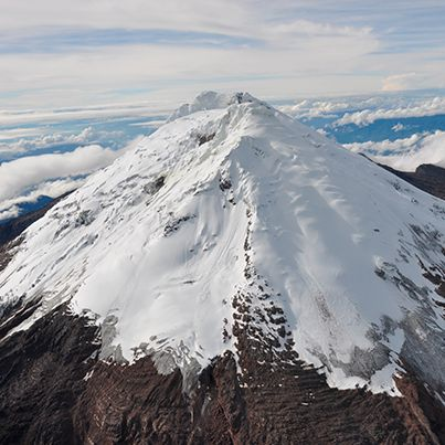 El volcán Nevado del #Huila es el punto más alto de la cordillera central de los Andes con 5750 mts. Highest Point in the Andes: Nevado del Huila, Colombia.