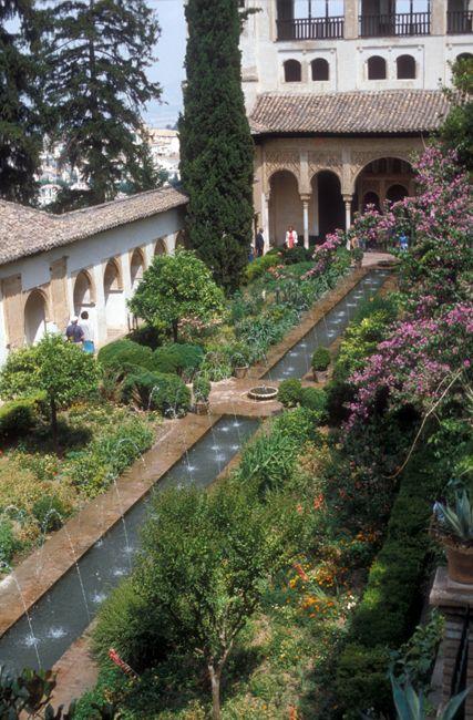 De todas las obras del arte rabe en espa a los jardines for Jardin de gomerez granada