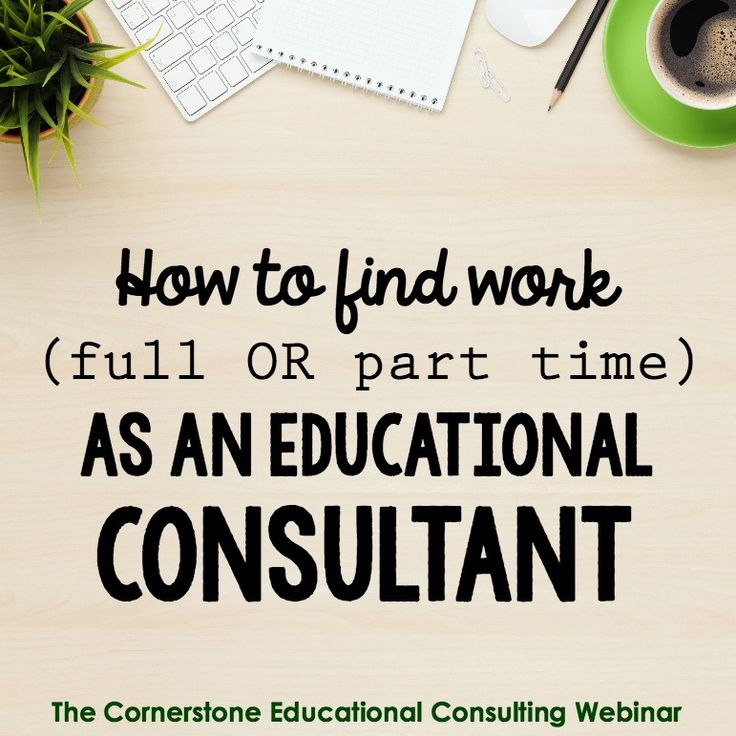 Resources (including a video course) for finding work as an educational consultant. Great for learning how to make extra money as a teacher!
