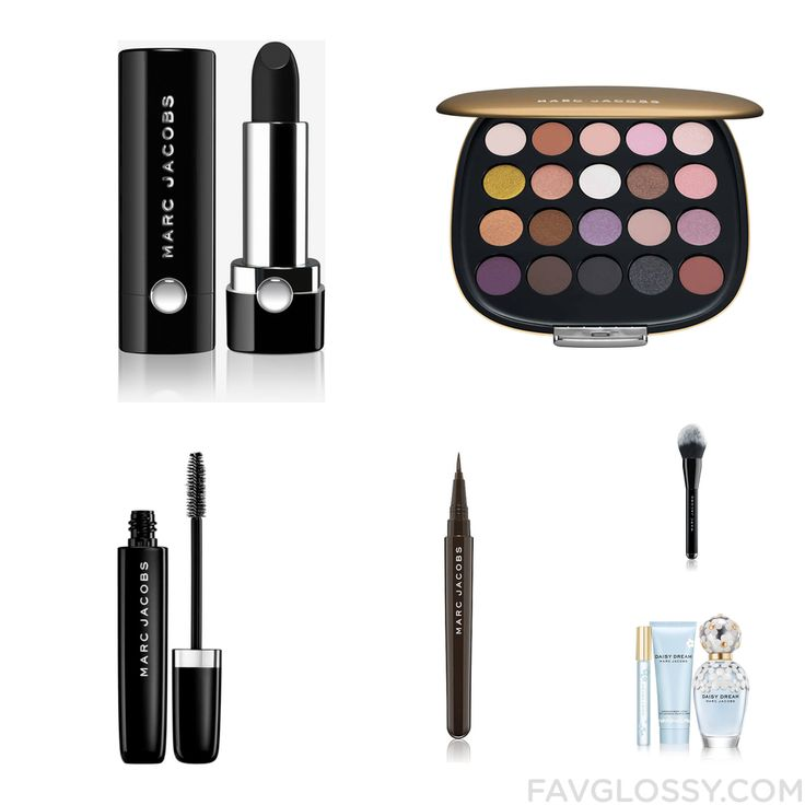 Cosmetics Tips Featuring Marc Jacobs Lipstick Marc Jacobs Marc Jacobs Mascara And Liquid Eyeliner From December 2016 #beauty #makeup