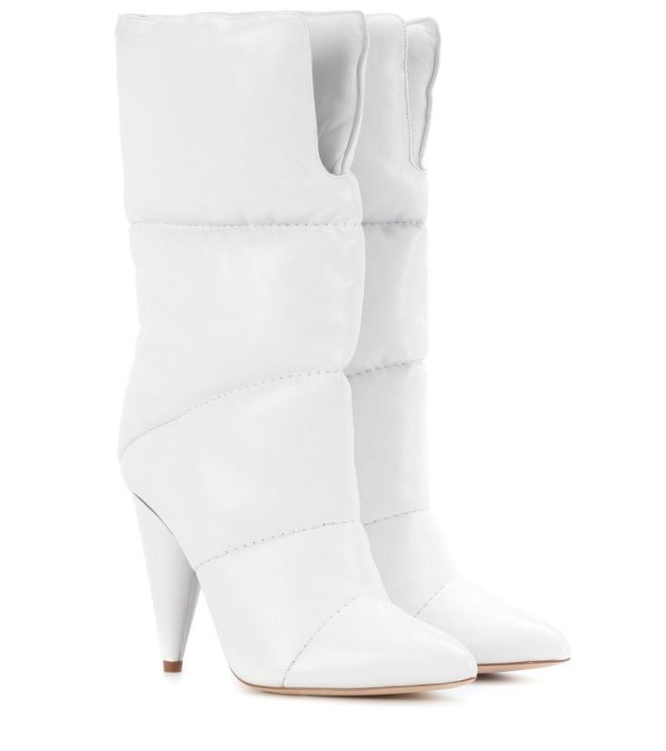 Rihanna's Jimmy Choo X Off-White Leather Boots