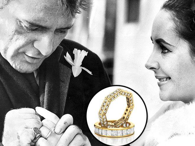elizabeth taylor auction items - Elizabeth Taylor Wedding Ring