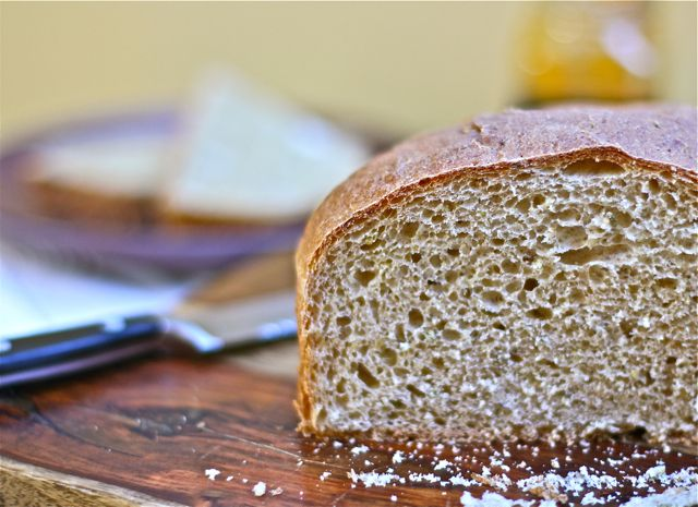 Whole Wheat Peasant Boule with Fennel (Abby's Bread)