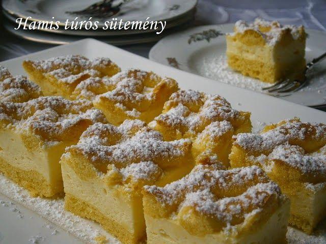 Receptek, hasznos cikkek és képek oldala!: Hamis túrós sütemény