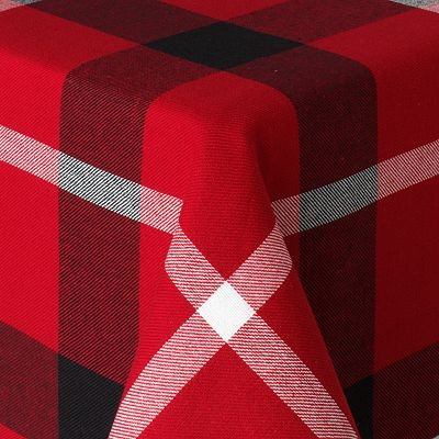 Attractive St. Nicholas Square Buffalo Plaid Tablecloth... Loving Buffalo Plaid!