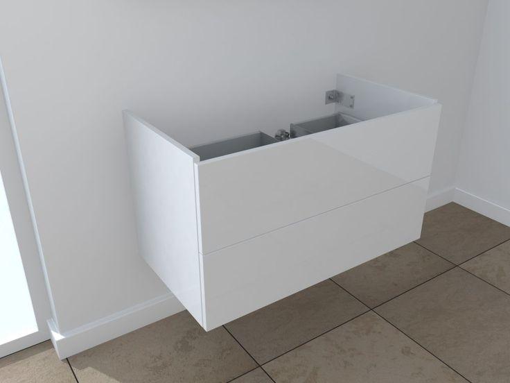 Die besten 25+ Waschtisch 100 cm Ideen auf Pinterest Waschtisch - badezimmer waschtisch mit unterschrank